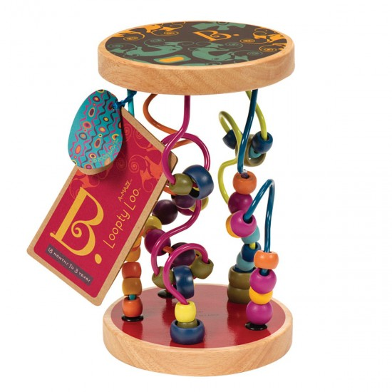 Educational Wooden Toy-Multi-Colored Maze, 41464, Kids,  Toys,Kids ,  buy with worldwide shipping