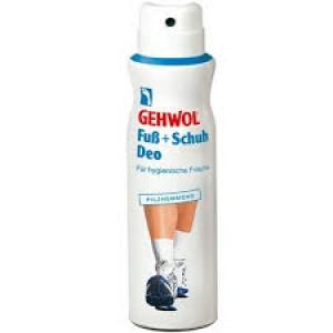 Дезодорант для ног и обуви - Gehwol Foot+Shoe Deodorant / Fub + Schuh Deo Pilzhemmend