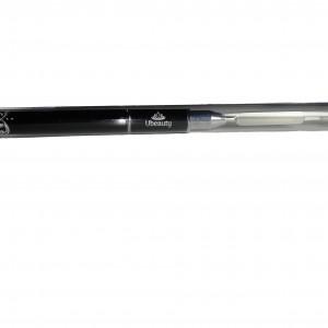 Acrylic gel brush with spatula, 8 mm, Ubeauty