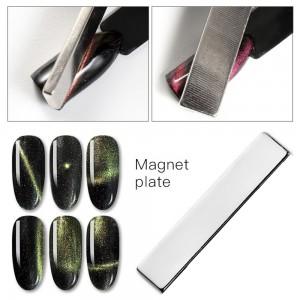 Магнит пластина, длинный прямоугольник, Сильный, Для гель лаков кошачий глаз, кошка, кошаки, cat eye, magnetic