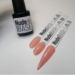 Камуфлирующая база, nude base, френч нюдовая база №1