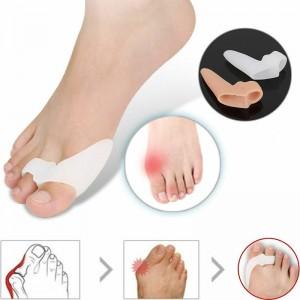 Бурсопротектор для двух пальцев стопы с межпальцевой перегородкой и дополнительным кольцом
