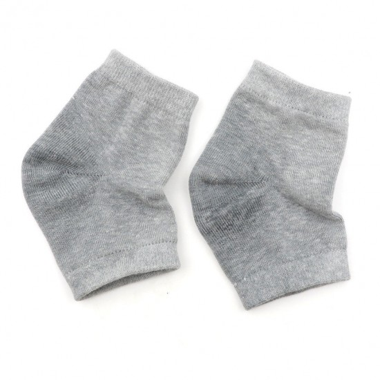 Blue Half socks moisturizing with a silicone heel inside price per pair, 41883, Subology,  Health and beauty. All for beauty salons,All for a manicure ,Subology, buy with worldwide shipping