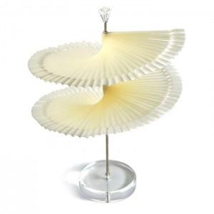 Палитра на подставке, спираль, белаые типсы, на ноге, 120 шт, для образцов, для лаков, для ногтей, для дизайна