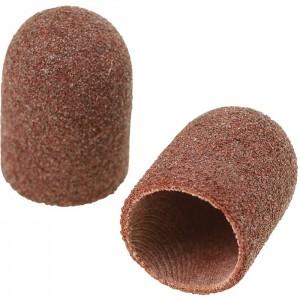 Колпачек наждачный песочныйк для педикюра диаметр 10 мм, 10 х 19 мм, абразивность 150 грит, средний, средняя жесткость