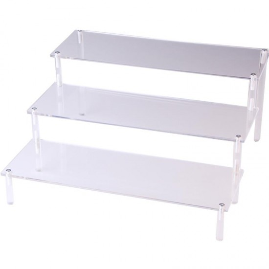 Acrylic transparent stand, 3 shelves,  organizer, shelf, for cosmetics, display for goods, for gel Polish, for decor, for RUB-ins, 3686, Accessories,  Health and beauty. All for beauty salons,All for a manicure ,Supplies, buy with worldwide shipping