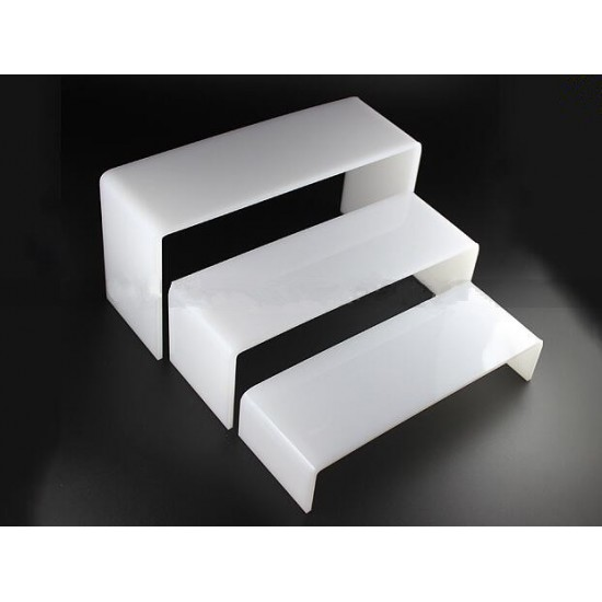 Acrylic stand, 3 PCs, organizer, shelf, for cosmetics, display for goods, for gel Polish, for decor, for RUB-ins, 3687, Accessories,  Health and beauty. All for beauty salons,All for a manicure ,Supplies, buy with worldwide shipping
