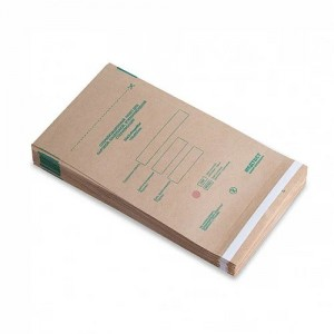 Kraft packages 100x250, for sterilization, steam, air, Medtest, packaging, 100pcs