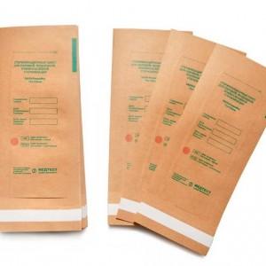Kraft packages 75x150 mm, 100 pcs, Medtest, SteriMag, for sterilization