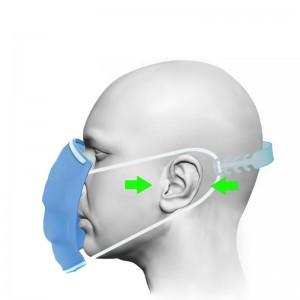 Держатель для маски пластиковый прямой для комфортного ношения масок 1 шт