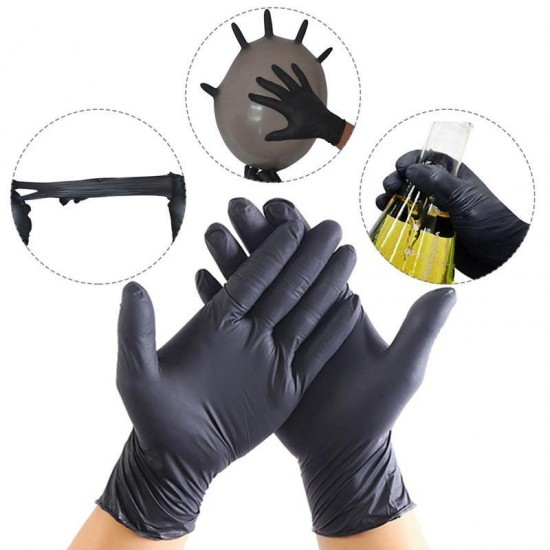Gloves nitrill S 100 pieces in a pack of black, Ubeauty-DP-04, Supplies,  All for a manicure,Supplies ,  buy with worldwide shipping