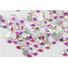 Rhinestones for nails AB Crystal SS4, Silver, hamilion, lux, shine, stones, decor, Swarovski, crystal, silver, glass, no hot fix, adhesive, 3694-NND-34, Nail stag,  All for a manicure,Decor and nail design ,  buy with worldwide shipping