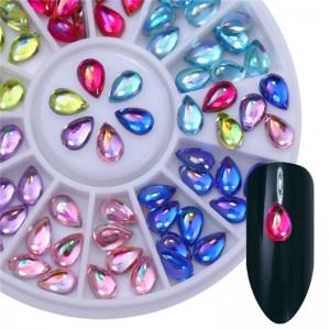 Декор для ногтей, стразы, камни, Капля воды, перламутровые капли, капли, drops