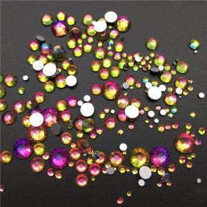 Микс кристаллы, камни, для ногтей, радуга, радужный, клей, нейл арт, Swarovski Crystal Rainbow Mix