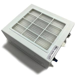 Настольная вытяжка Ulka  X2f с Хеппа фильтром белая