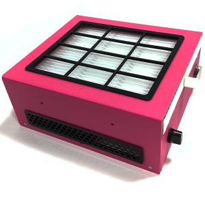Настольная вытяжка Ulka  X2f с Хеппа фильтром малиновая