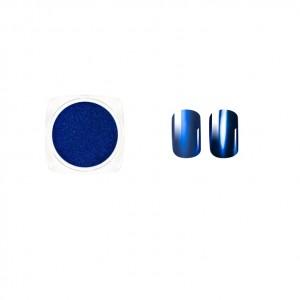 Втирка для ногтей, Голубой металлик, Blue metallic, chamelion blue, голубой хамилион, Виктория Винн, Victoria Vynn, no 22, 2гр, dust effect