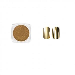 Втирка для ногтей, Золото металлик, Gold metallic, Виктория Винн, Victoria Vynn, no 16, 2гр, dust effect
