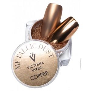 Втирка  для ногтей, Медный металлик, Виктория Винн, metallic dust cooper, Victoria Vynn, no 17, 2гр
