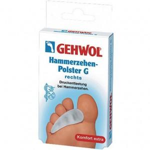 Гель-подушка под пальцы G - Gehwol Cushion for hammer toe G