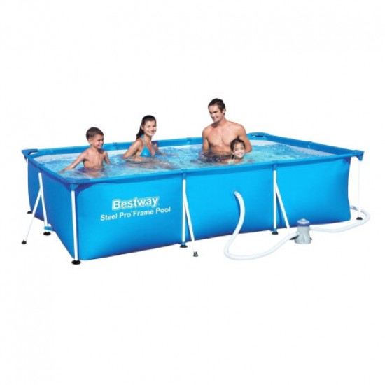 Frame pool Bestway 56424 (400x211x81) with cartridge filter, 952728258, Pools,  Network engineering,All pool ,Swimming pools and accessories, buy with worldwide shipping