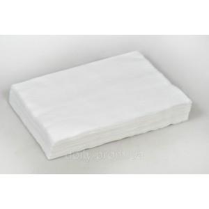Салфетки 20см х 30см из нетканого впитывающего материала спанлейс в пачке, 40г/м2, 100 шт, Panni Mlada