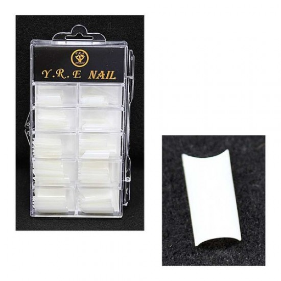 YRE 100pcs nail tips without a contact zone (matte), 58573, Nails,  Health and beauty. All for beauty salons,All for a manicure ,Nails, buy with worldwide shipping