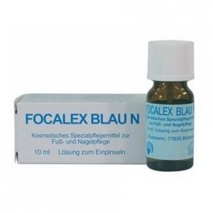 Противогрибковое средство / 10 мл - Suda Focalex blau