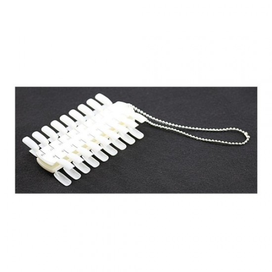 Tablet-rows for samples with a chain of 36 colors (2x18) Matt, 58715, Nails,  Health and beauty. All for beauty salons,All for a manicure ,Nails, buy with worldwide shipping