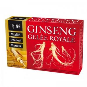 Иммунитет+Интеллект+Женьшень+Маточное молочко / 20х10 мл - Laboratories Ineldea Ginseng + Gelee Royale
