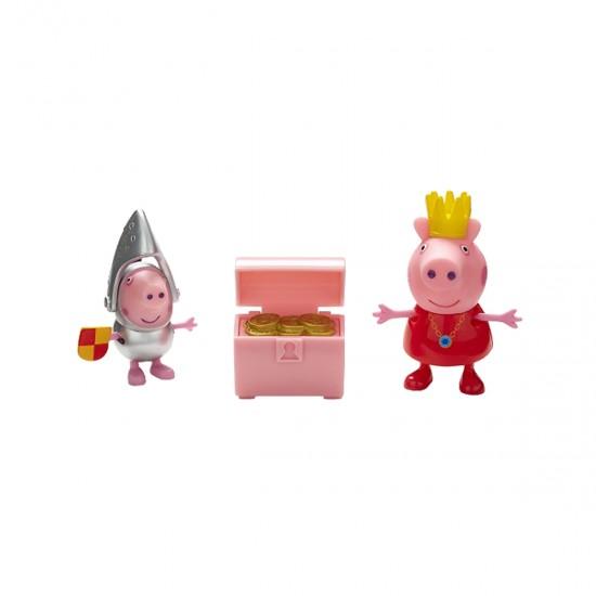 Peppa Figurine Set-Princess Peppa And Sir George Silver, 41436, Boys,  Toys,Boys ,  buy with worldwide shipping