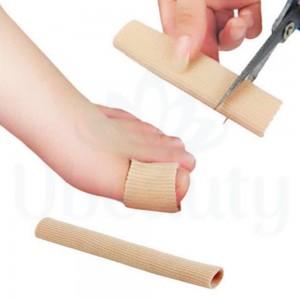 Защитная силиконовая трубка для пальцев, от мозолей, 10 см