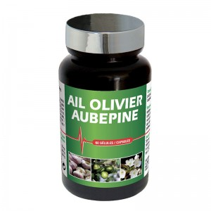 Чеснок + лист оливы + цветы боярышника / 60 капсул - Laboratories Ineldea Nuntri Expert Ail Olivier Aubepine