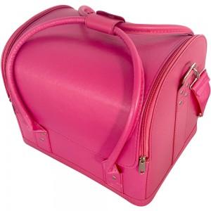 Маникюрный чемодан из экокожи 25*30*24 см мягкий РОЗОВЫЙ ,MAS1150