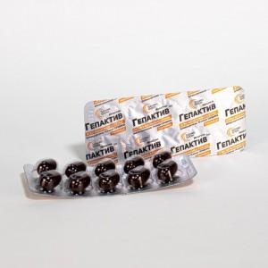 Гепактив УльтраКап #80. 780 мг. Для нормализации функционирования печени и желчного пузыря