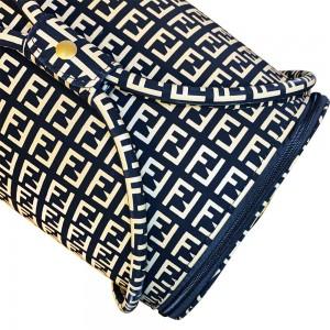 Эксклюзивный маникюрный чемодан бархатный 25*30*24 см FENDI ,KOD2000