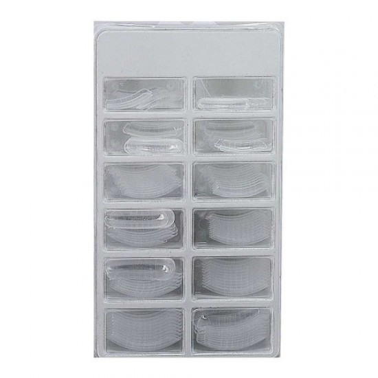 Top form large 12pcs transparent (tips), 58615, Nails,  Health and beauty. All for beauty salons,All for a manicure ,Nails, buy with worldwide shipping