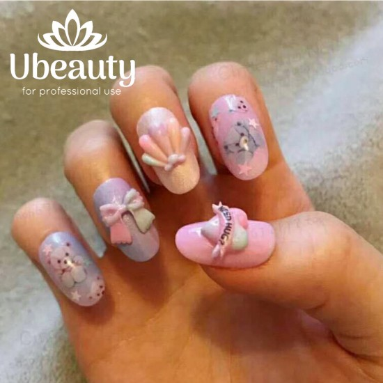 SILICON3D FORM, Ubeauty-NND-02, Accessories,  All for a manicure,Decor and nail design ,  buy with worldwide shipping
