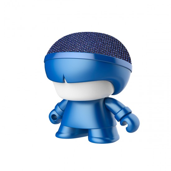 Xoopar - Mini Xboy Acoustics (7.5 Cm, Metallic Blue, Bluetooth), 41476, For the whole family,  Toys,For the whole family ,  buy with worldwide shipping