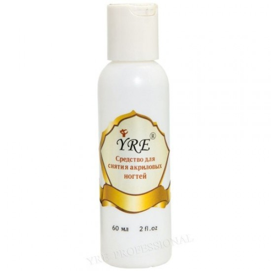 Yre acrylic nail remover 60ml, 58462, Nails,  Health and beauty. All for beauty salons,All for a manicure ,Nails, buy with worldwide shipping