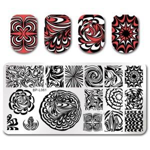 Пластина для стемпинга C675, C692 чудеса голографии,для дизайна ногтей (BP-L061)