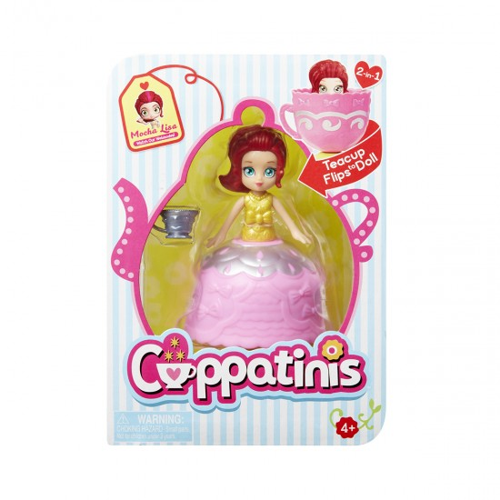 Cuppatinis S1 doll-LISA MOCHA, 41381, Girls,  Toys,Girls ,  buy with worldwide shipping
