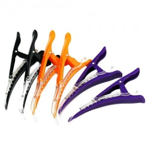6pcs hair clip (colored)