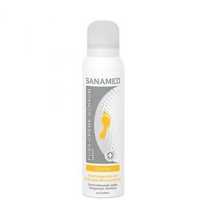 Крем-пена «Цитрин» против потливости / 150 мл – SanaMed Suda Care Cream Foam «Citrin»