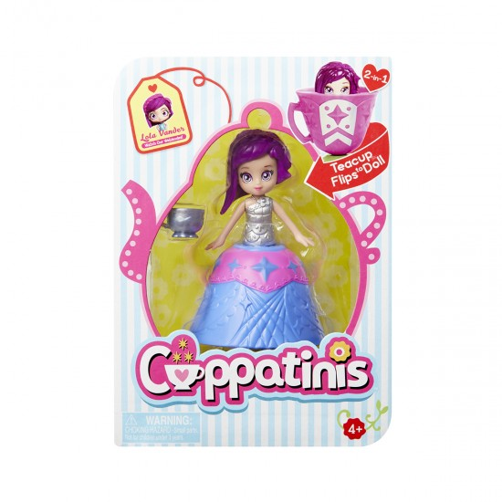 Doll CUPPATINIS S1 - LOLA LAVENDER, 41383, Girls,  Toys,Girls ,  buy with worldwide shipping