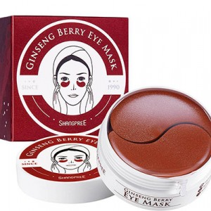 Patches under the eyes of Shangpree Ginseng Berry Eye Mask 1.4g x 60pc.