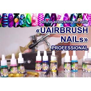 'UAIRBRUSH NAILs' PROFESSIONAL kit