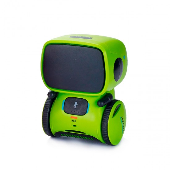 Interactive Robot with Voice Control – AT-Robot (Green), 41959, For the whole family,  Toys,For the whole family ,  buy with worldwide shipping