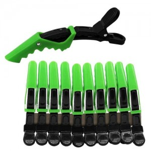 10pcs plastic crocodile hair clip