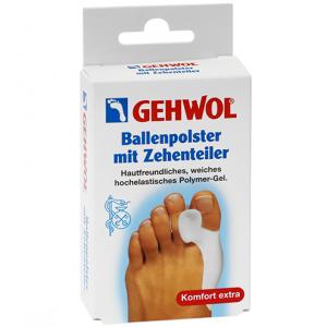 Гель-корректор и накладка на большой палец / 1 шт - Gehwol Ballenpolster mit Zehenteiler